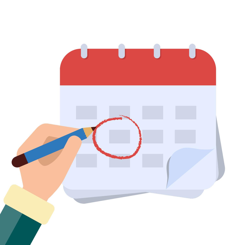 ¿Cómo modifico las fechas de disponibilidad de forma masiva?