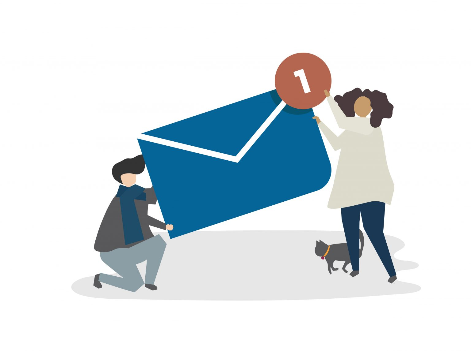 ¿Cómo le envío correos electrónicos a mis alumnos?